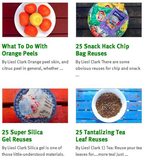 Click Through to Reuse Everyday Things at Trash Backwards