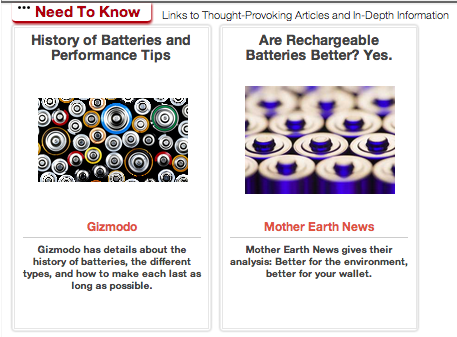 Click Through For Battery Reduce, Reuse, Recycle, and Rethink Ideas at Trash Backwards