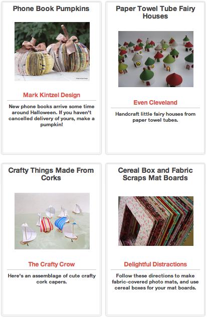 Click Through for Arts and Crafts Ideas at Trash Backwards