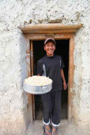 Tula Magar and Popcorn for 10. © Liesl Clark