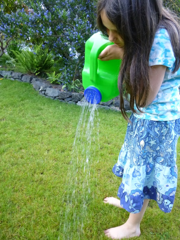 DIY Plastic Jug Watering Can