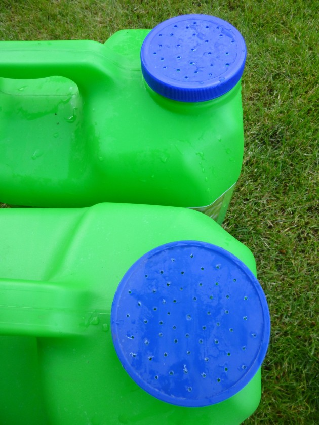 Plastic Jug Watering Cans