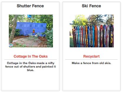 Click Through For DIY Fencing Ideas at Trash Backwards