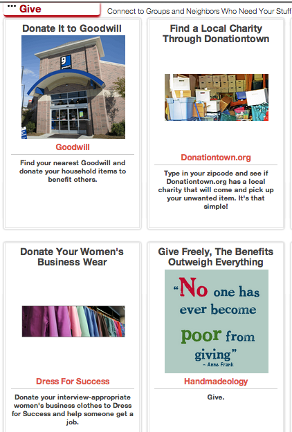 Click through to find ideas for where to give your unwanted clothing away.