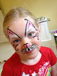 Face painting is a gift, not just a talent. © Melisa Lunt
